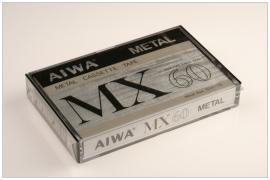 AIWA MX 60 metal 1982