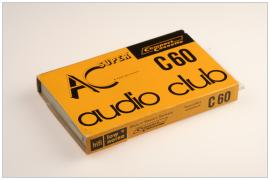 AC ( audio club ) C60 papirtkos