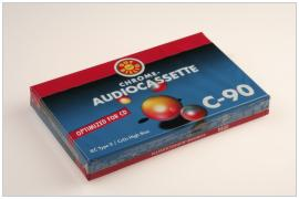 CHROME audiocassette C 90