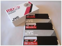 JVC Dynarec MD 2D floppy