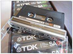 TDK SA60 cassette 1983