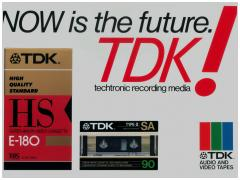 TDK! Now is the future.