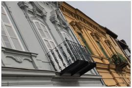 Pécs - Búza tér (északi oldal)