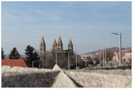 Pécs - alagút felett