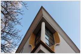 Pécs - Alkotmány utca (ház részlet)