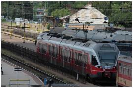 Pécs - vasútállomás (részlet)