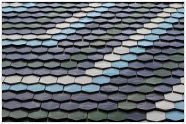Pécs - Domus áruház tető