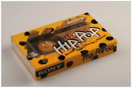 SONY Hip-Pop 60 yellow 1988