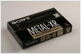 SONY METAL-XR 50 1989