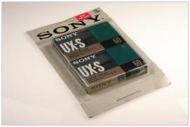 SONY UX-S 60 blister pack