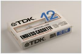 TDK endless cassette EC-12M