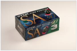 TDK SA90 3 pack